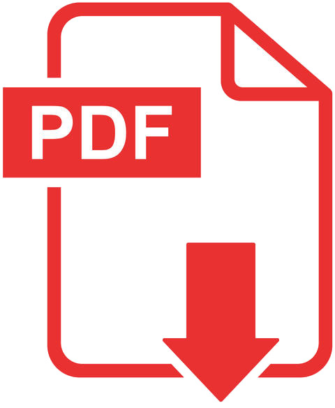 icona pdf di vettore di download